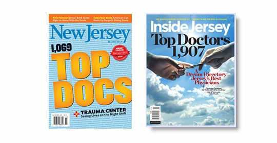 UOA Physicians Named Top Doctors by Inside Jersey and New Jersey Monthly