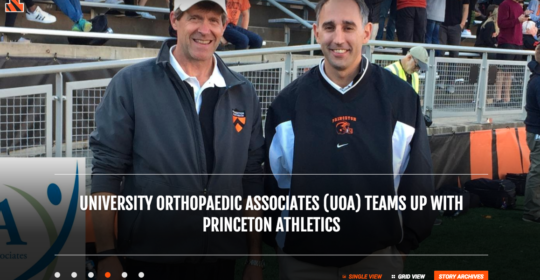 UOA Teams Up with Princeton Athletics