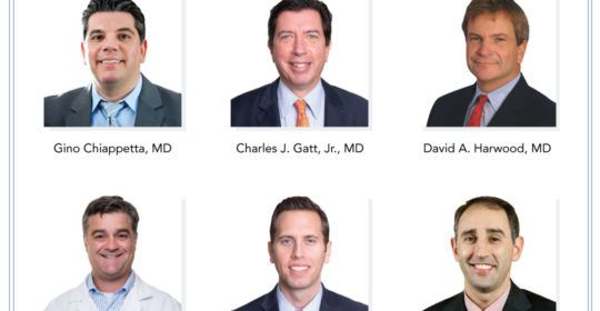 UOA Surgeons Selected as NJ Monthly Top Docs