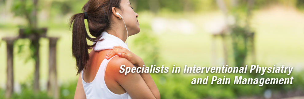 Interventional physiatry and pain management is about helping you feel your best—without surgery.