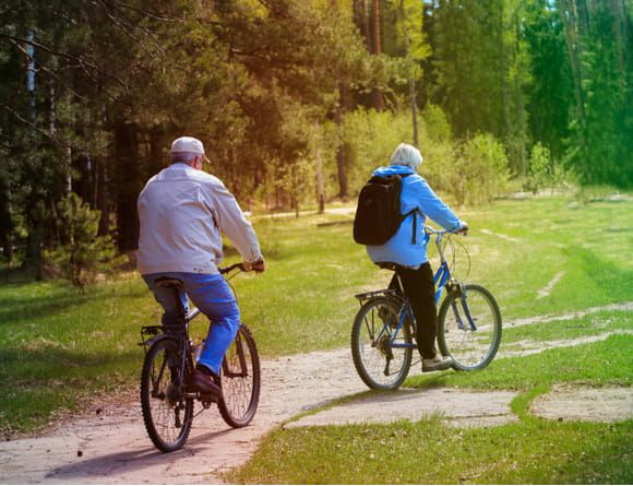 You can lead an active lifestyle after total knee replacement at UOA