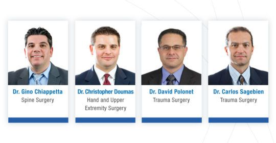 UOA Doctors Win NJ Monthly Select Surgeons Award