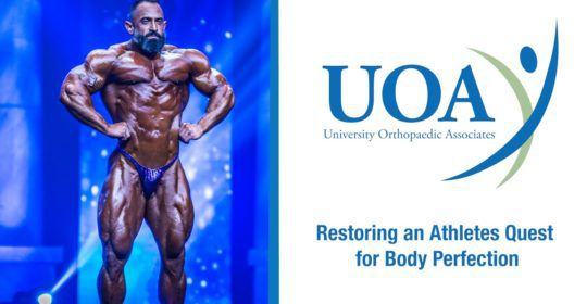 Restoring an Athlete's Quest for Body Perfection