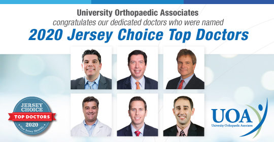 UOA Surgeons Selected for 2020 Jersey Choice Top Doctors